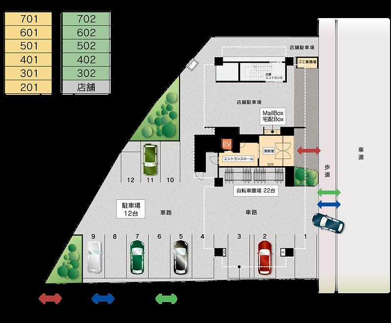 モンテージュ1階