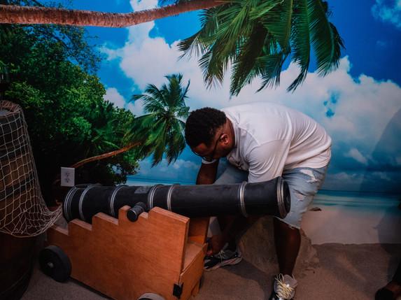 The Room - Treasure Island Action Shots