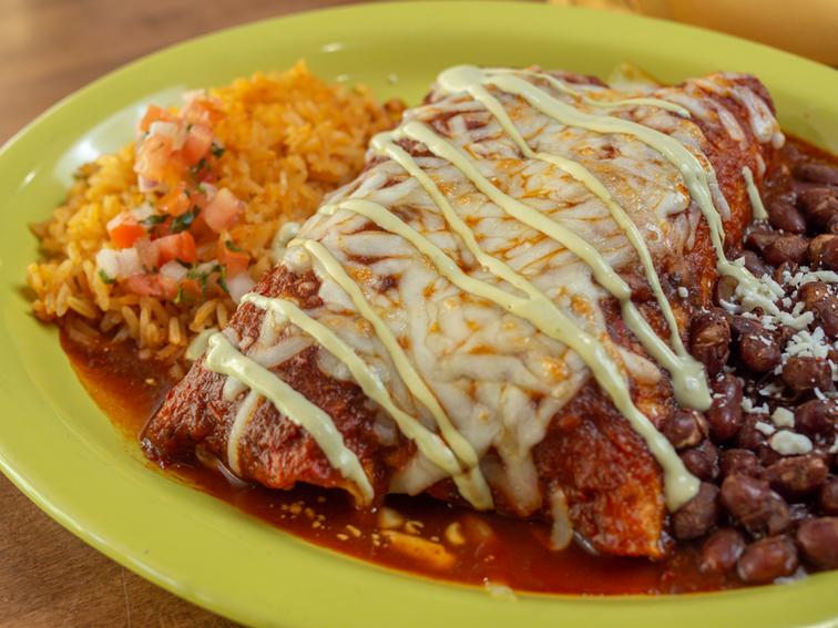 Beef Birria Enchiladas