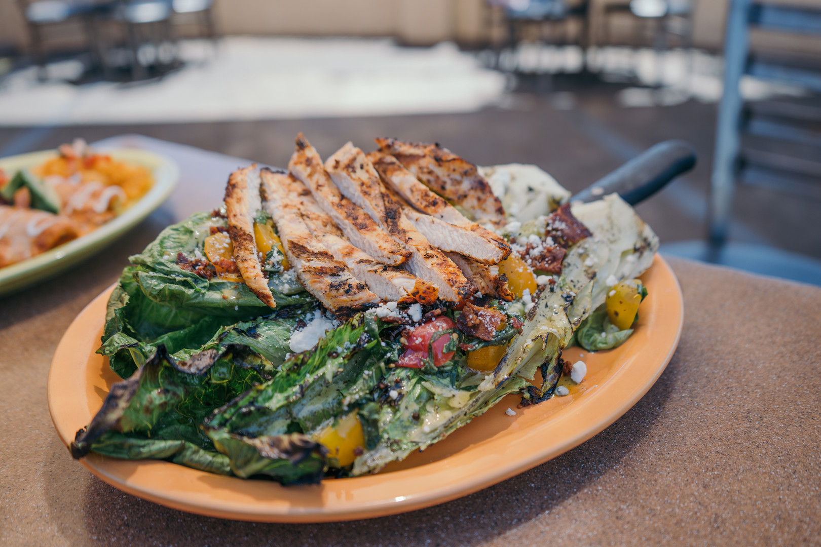 Mesquite Grilled Romaine Salad