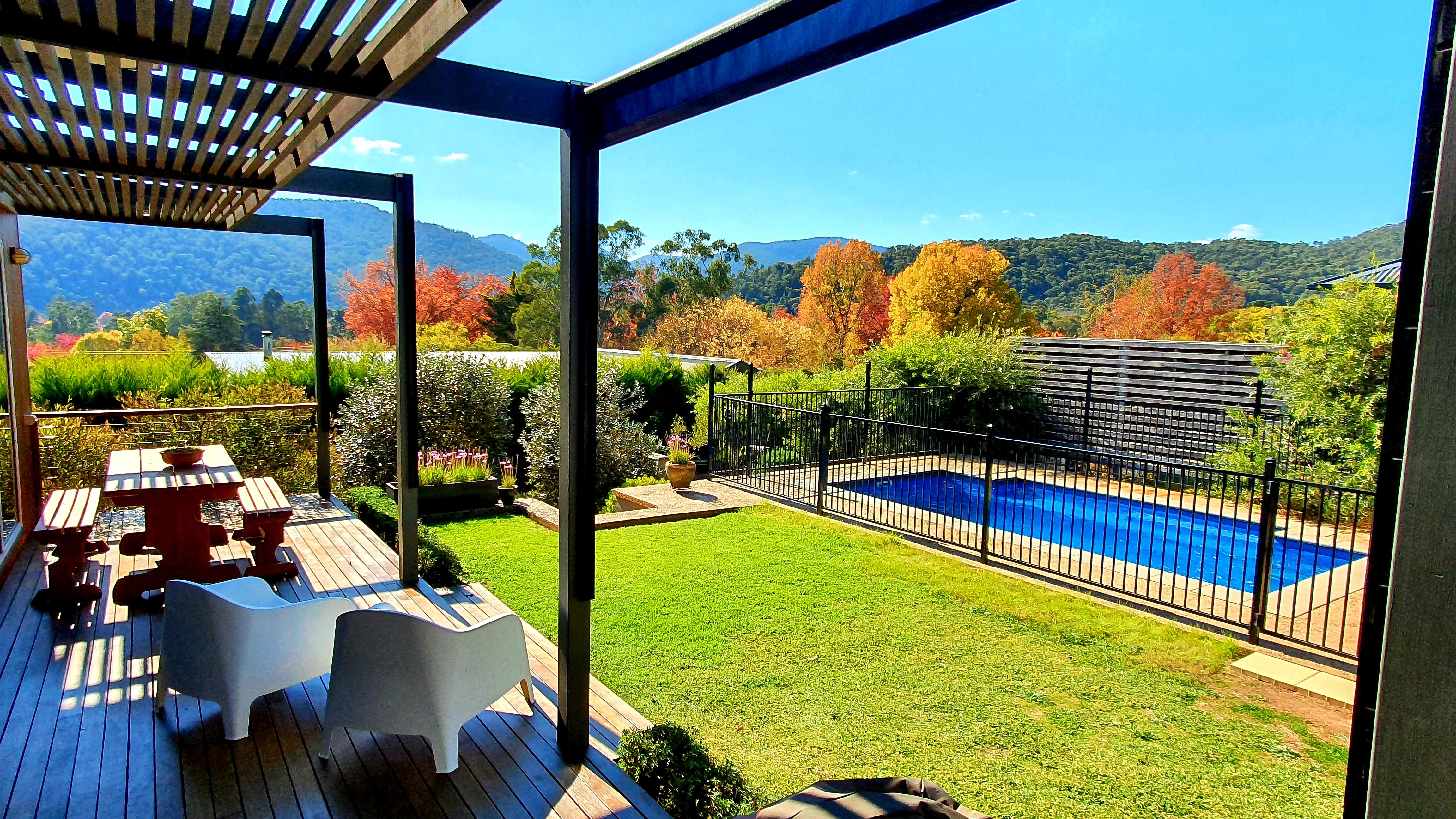 2021 autumn deck view