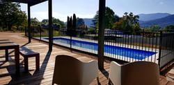 Christina's Retreat pool and deck