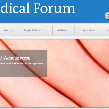 """März 2016: Erschienen im """"Schweizerisches Medizinisches Forum"""""""