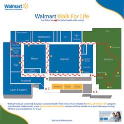 Walmart Walk For Life Map Sample