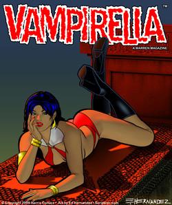 Vampirella Cover Idea