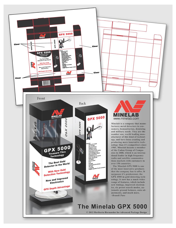 Minelab Package Design
