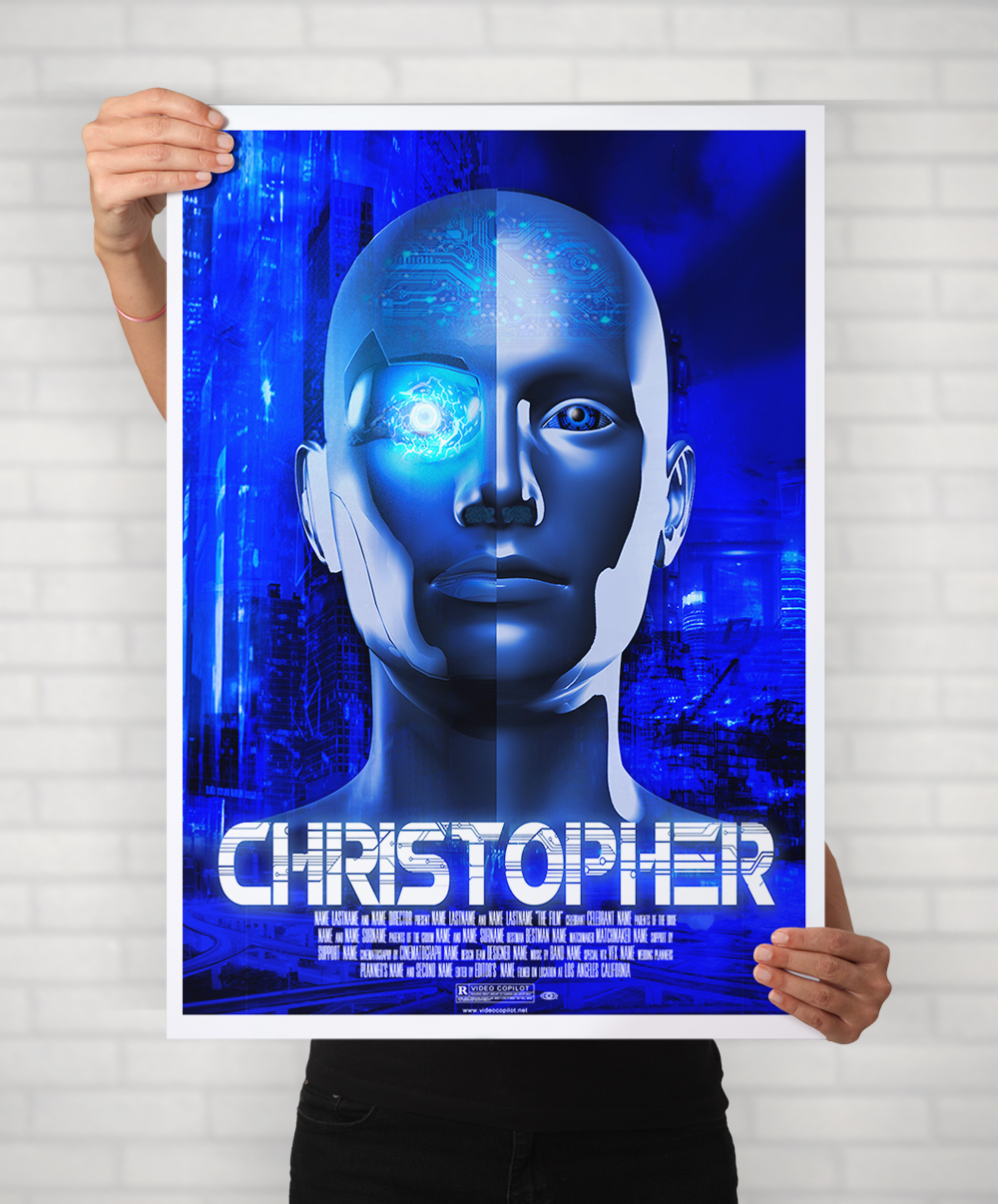 Christopher Movie Mockup