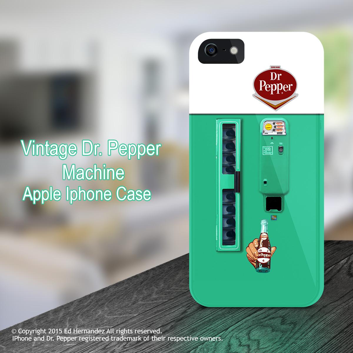 iPhone Dr. Pepper Case