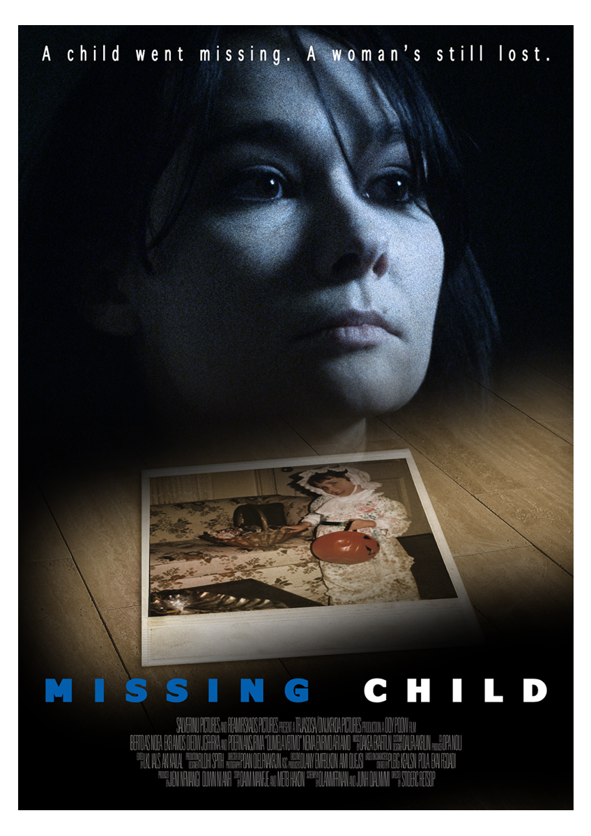 Missing Child Poster Design