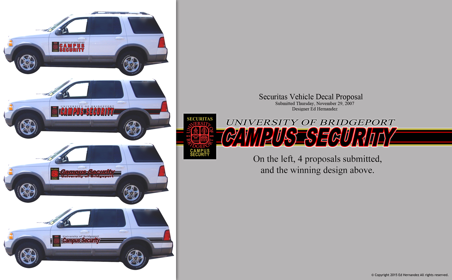 Security Vehicle Decals