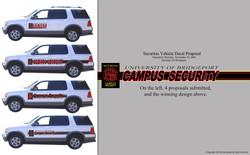 Security Vehicle Decals