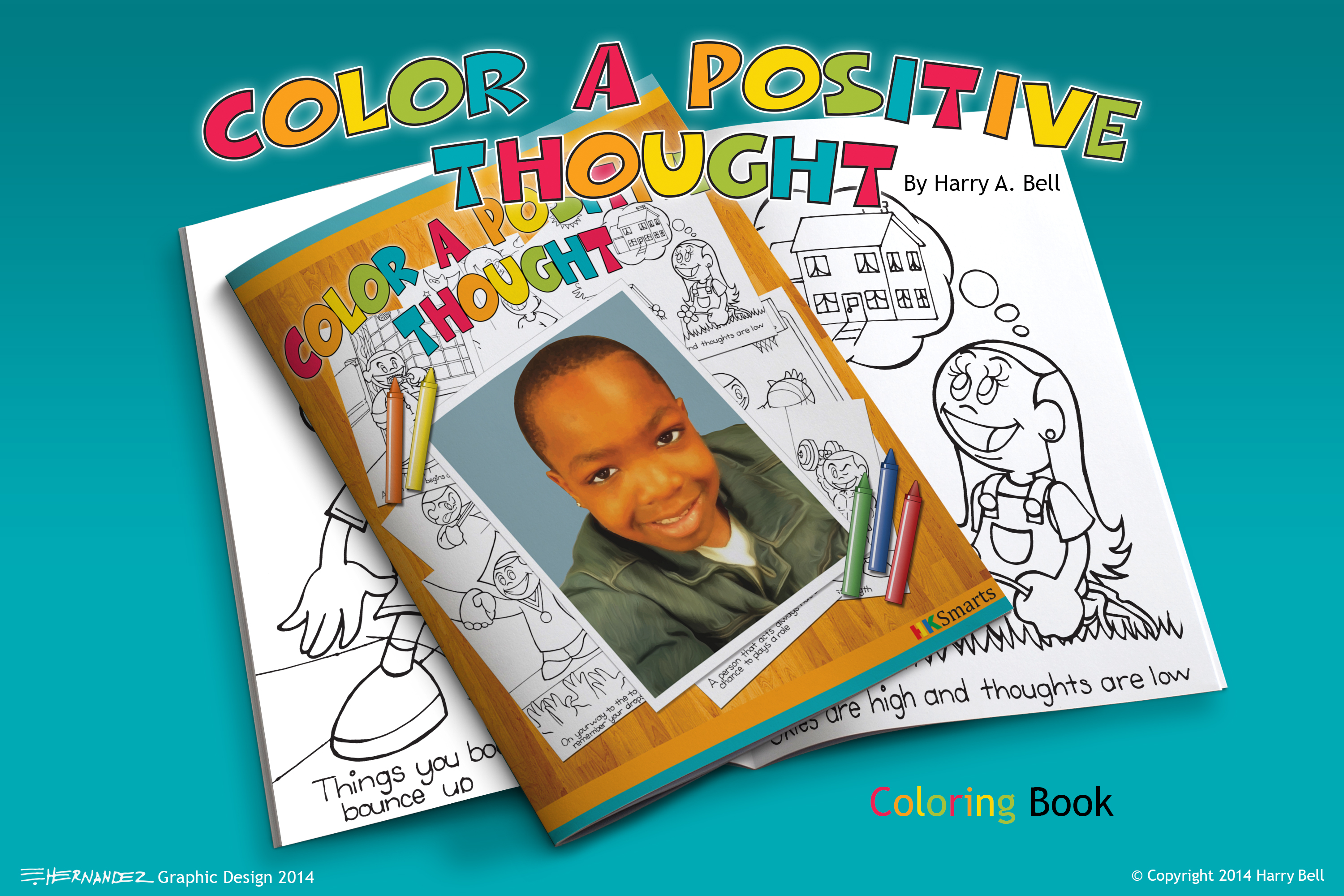 Color a Positive Thought 1st Edition