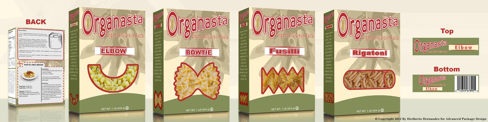 Pasta Box Design