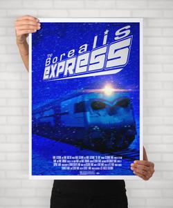 The Borealis Express Cover Mockup
