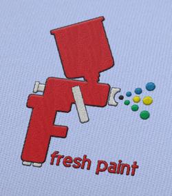 Fresh Paint Logo Idea