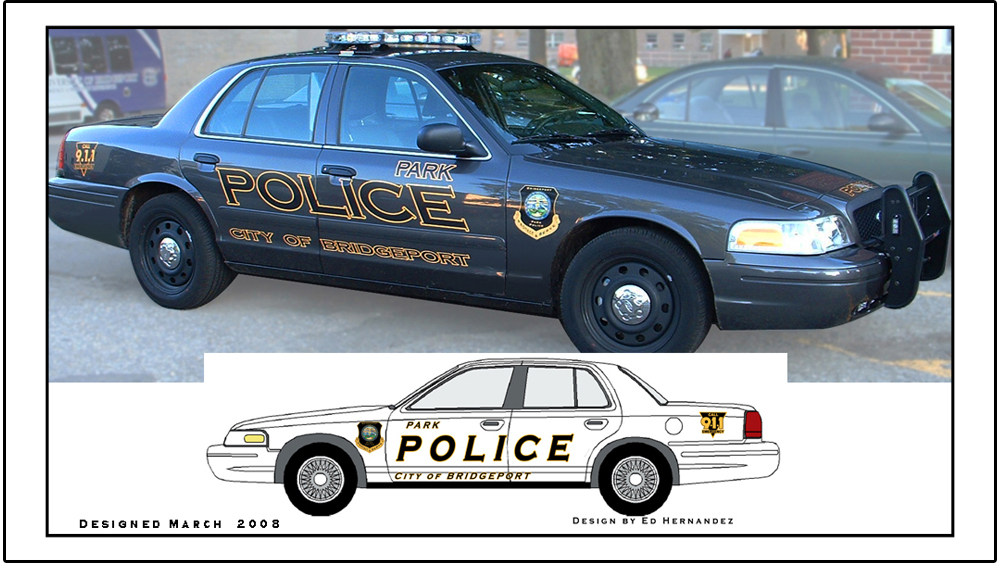 Bridgeport, CT, Police Decal