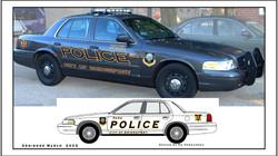 Bridgeport, CT, Police Decal