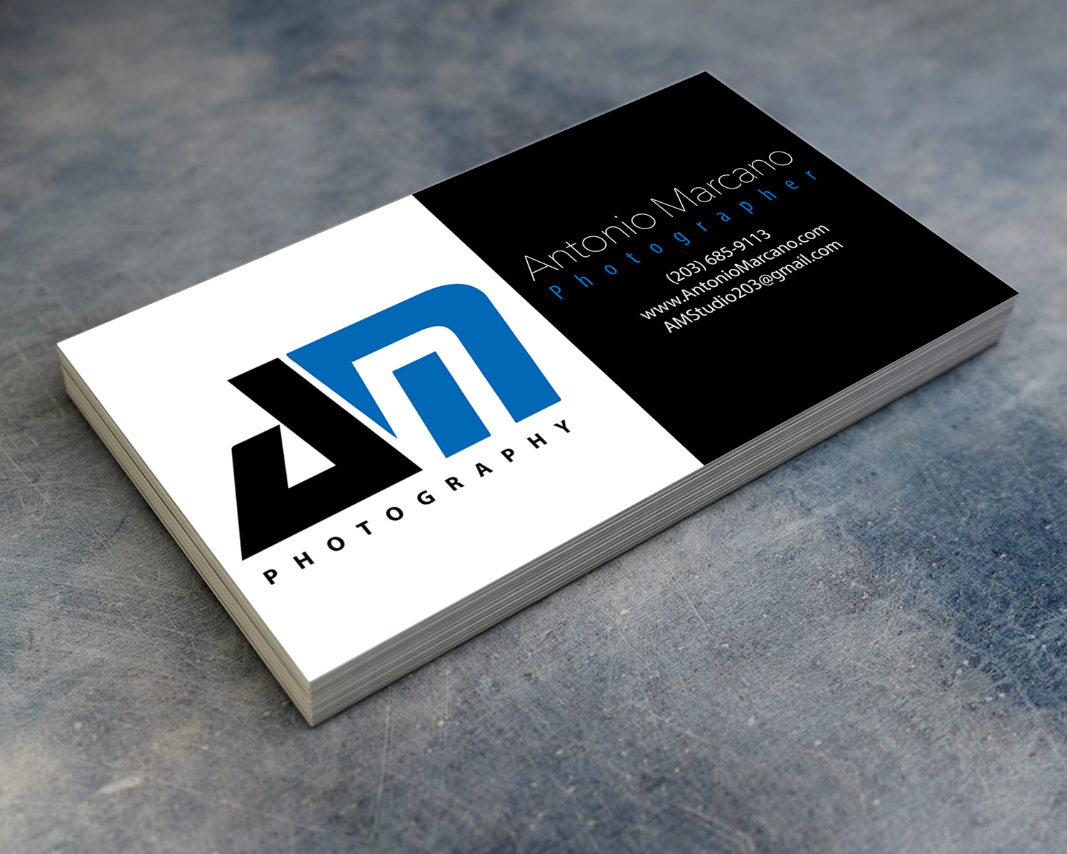 Antonio Marcano Business Card