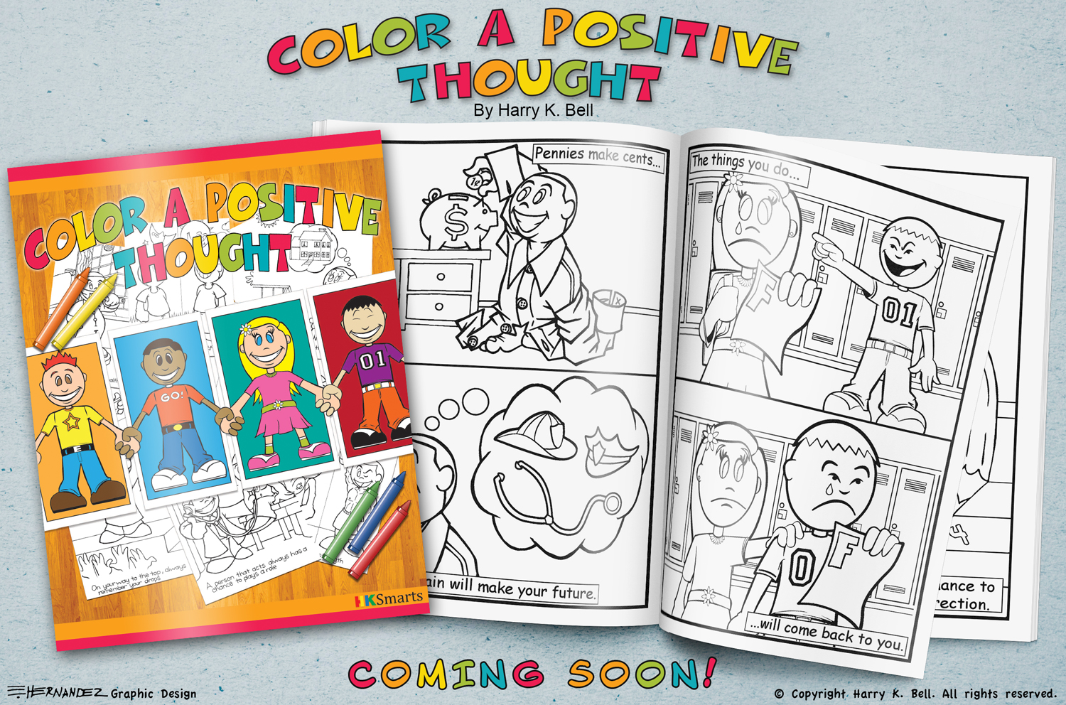 Color a Positive Thought