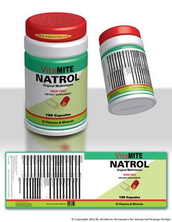Pill Bottle Design Sample