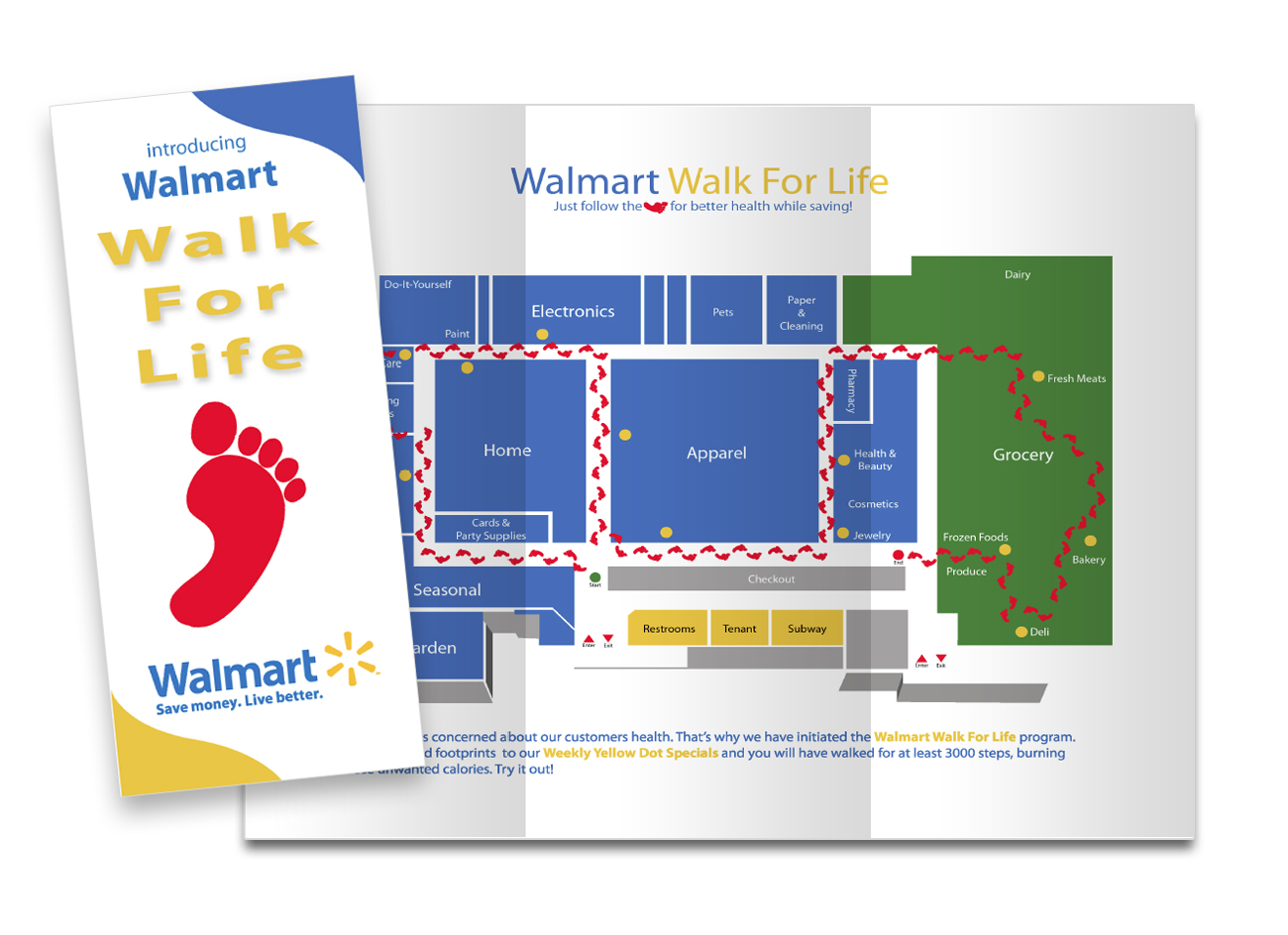 Walmart Trifold Sample