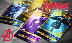 Avengers Trading Cards Set 2