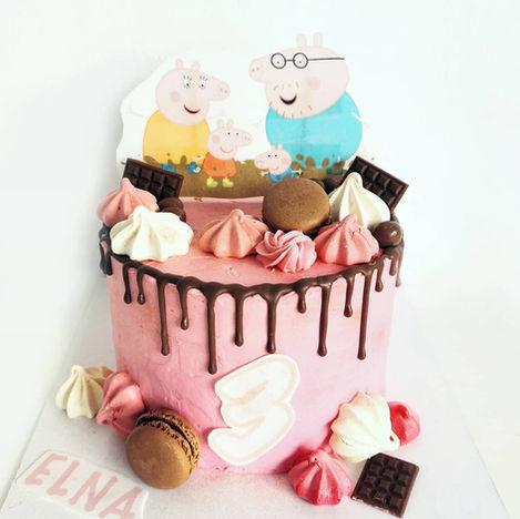 DRIP CAKE PEPPA PIG