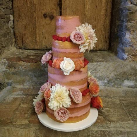PASTEL DE BODA FORREST CAKE