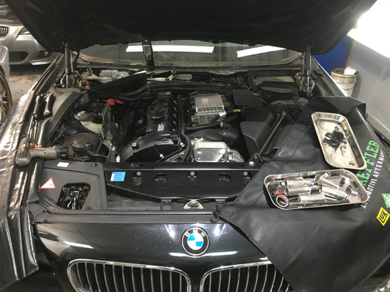 BMW 5 series Rocker Cover Oil Leak elimination
