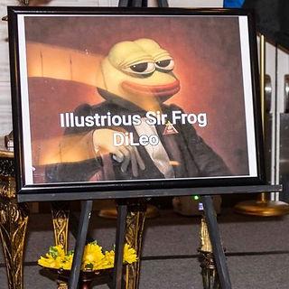 Illustrous Sir Frog