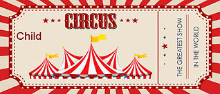 Shrine Circus Ticket Childs
