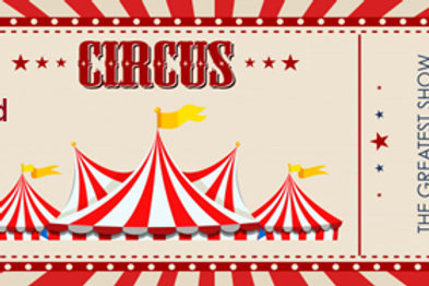 Childs Circus Ticket