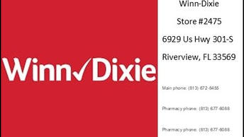 Winn Dixie store 2475