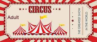 Shrine Circus Ticket Adult