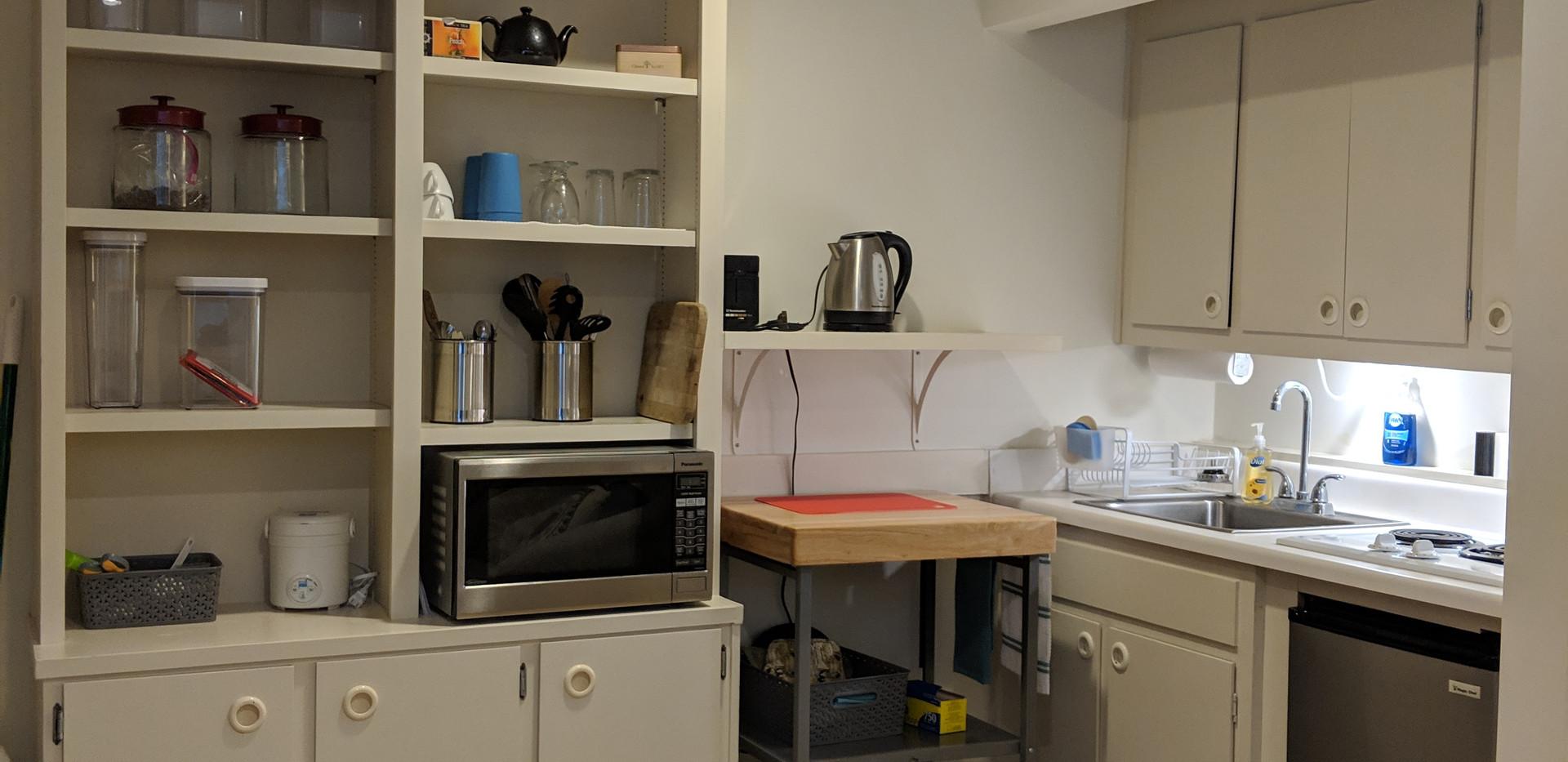 Downstairs Courtyard Kitchen
