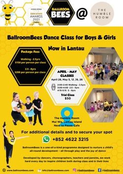 BallroomBees Dance Class