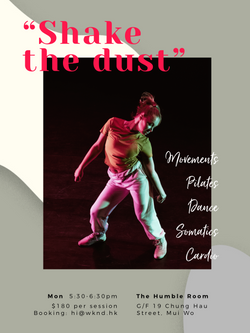 """Shake the dust"""