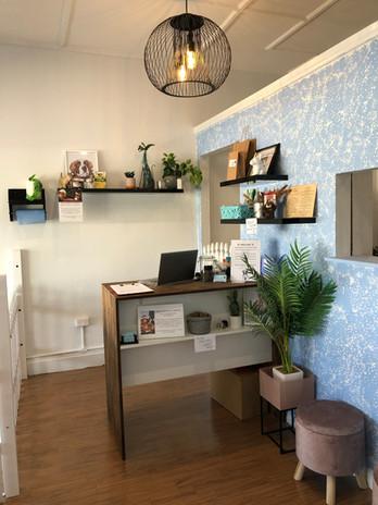 Our Reception Desk