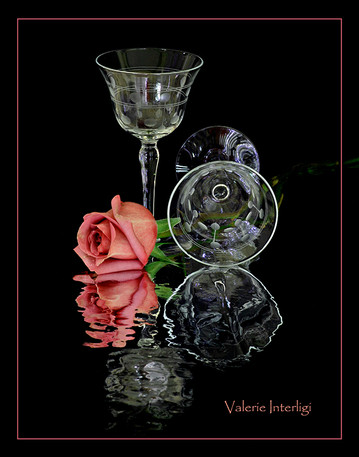 Valerie a rose and 2 glasses.jpg