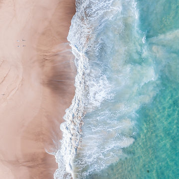 salt + waves turquoise water