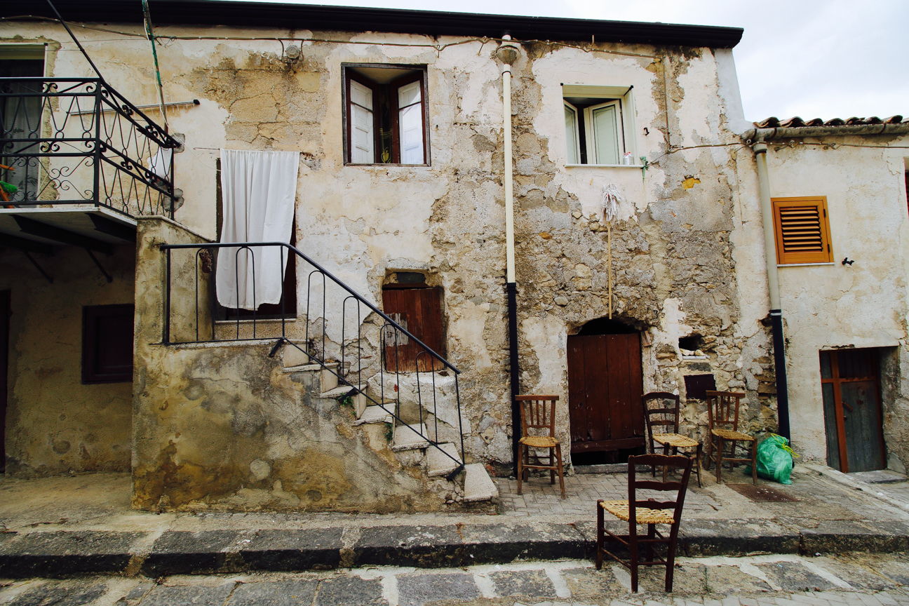 Sicily - old house (still occupied)