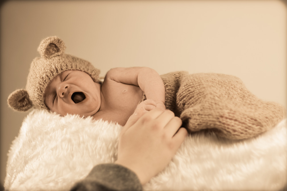 new born baby shoot