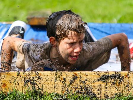 Kids Mud Obstacle Run