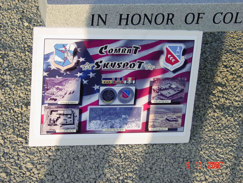 Combat SkySpot remembrance picture