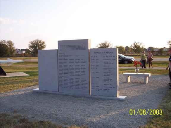 Memorial Back