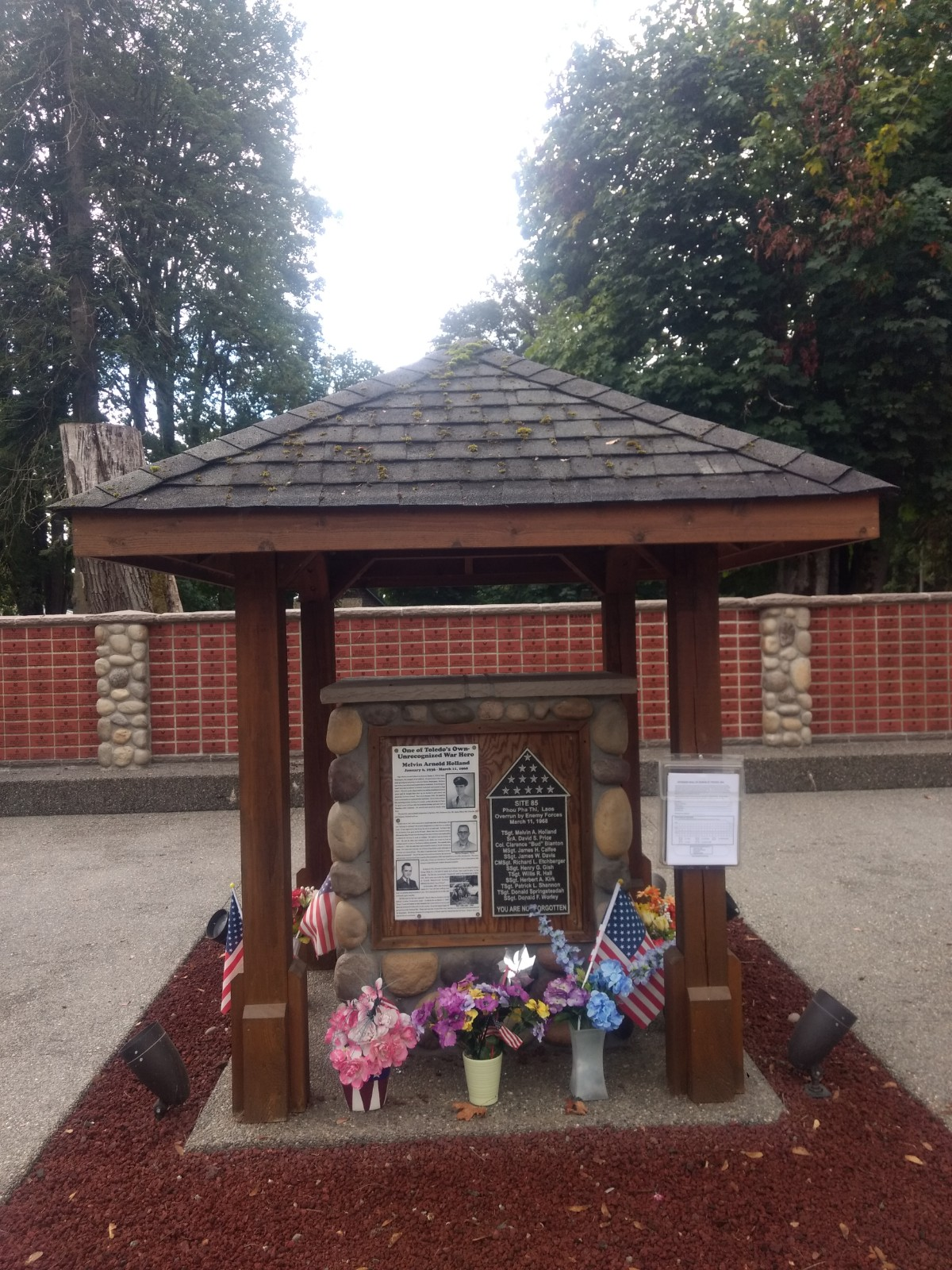 TSgt Melvin Holland Memorial