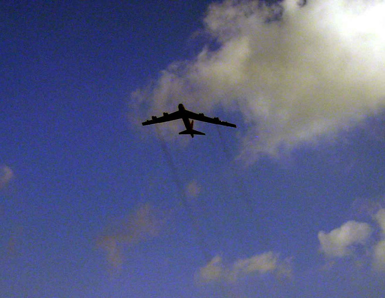 B-52 Fly Over
