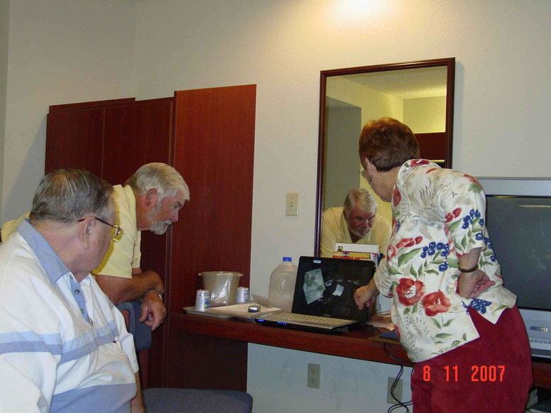 Boyd E. Craft, Donnell Hll, Ann Holland Ann is showing rare photos of LS-85