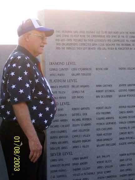 Emerson MacAfee Memorial Back-center