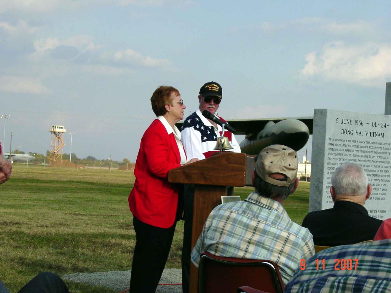 Ann Holland Saying thanks.